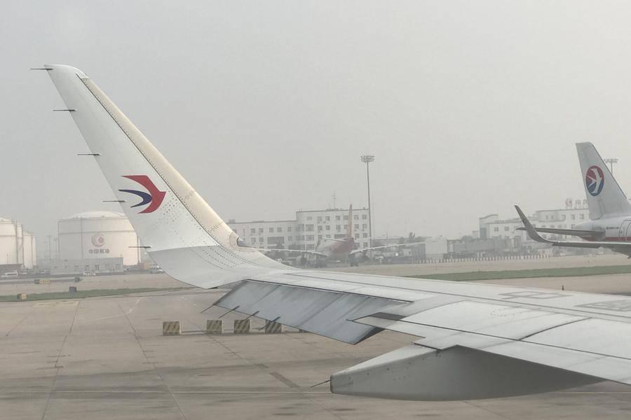 东方航空品牌logo及东航标志的飞机
