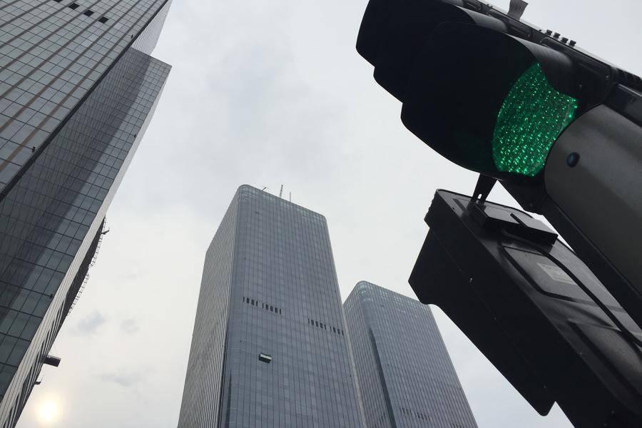 中国尊建筑群北京cbd