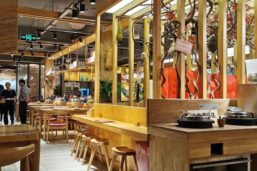 餐厅景色,餐饮,成本