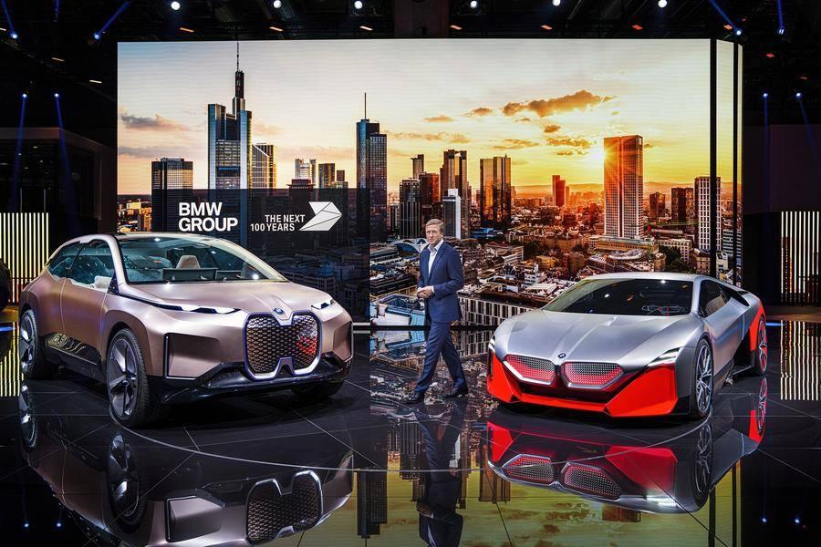 亮相多款概念车,宝马下一代产品方向丨法兰克福车展