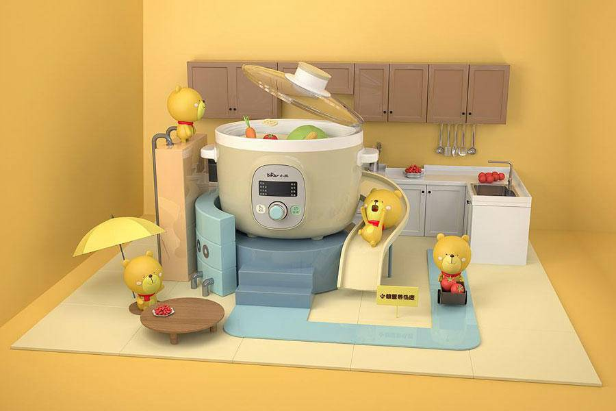 """小熊電器:在""""美蘇九""""制霸的廚房找尋出路"""