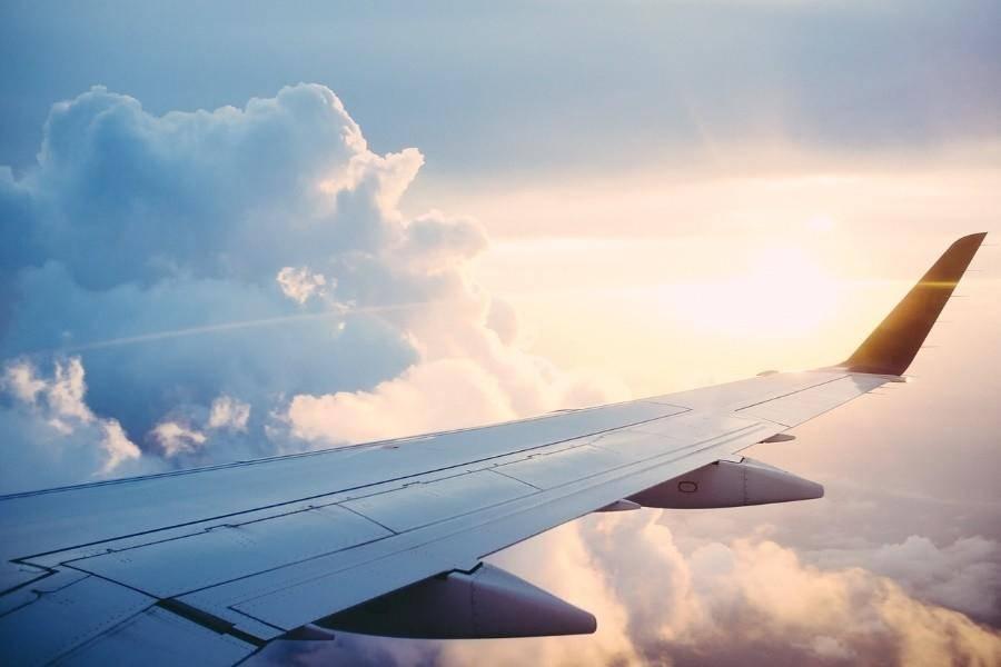 飞机 天空 云朵,