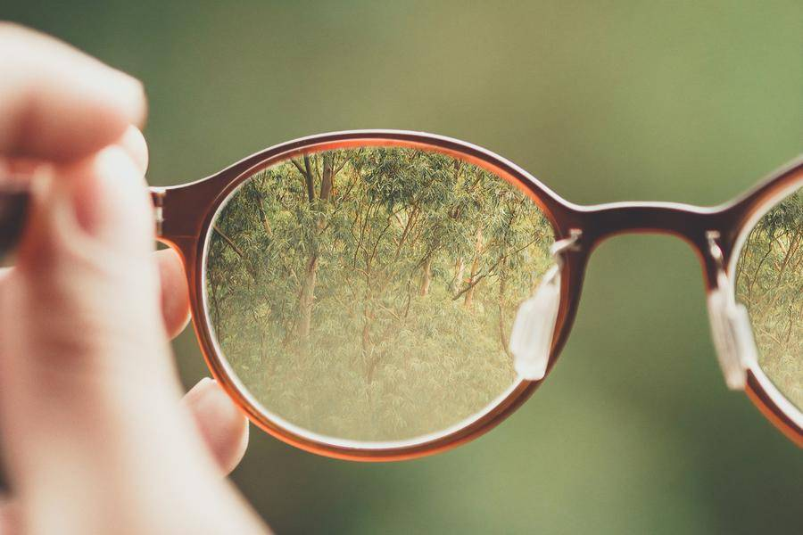 眼镜 绿色