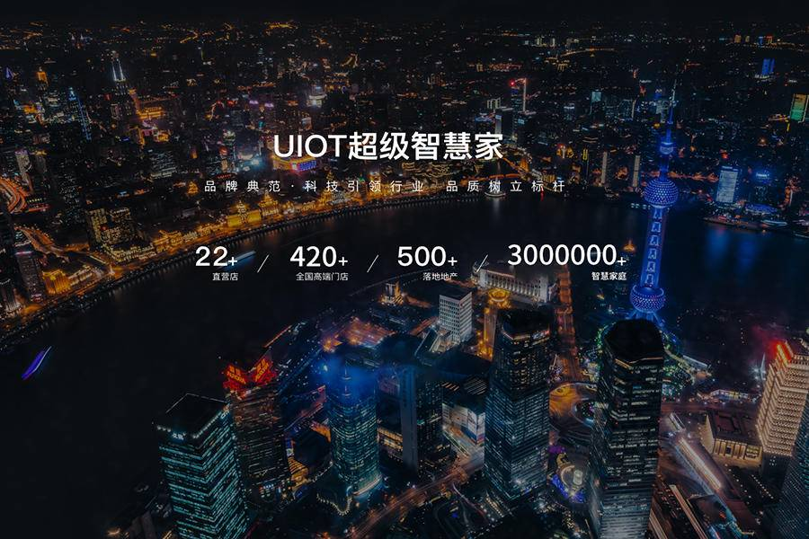 UIOT超级智慧家率先发力,获20亿元地产订单!