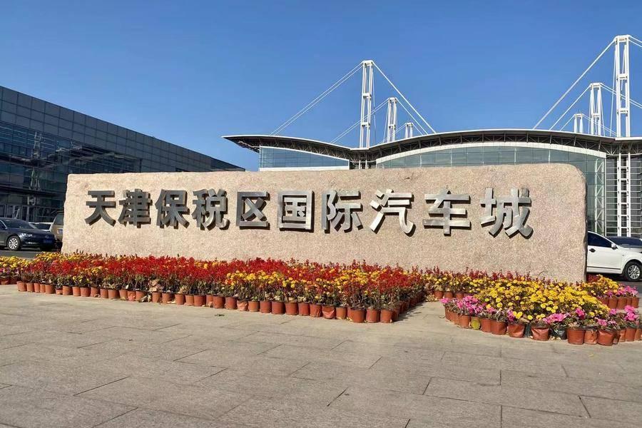 天津保税国际汽车城