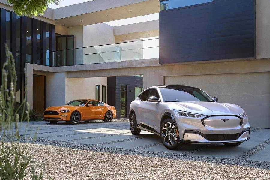福特纯电SUV Mustang Mach-E发布