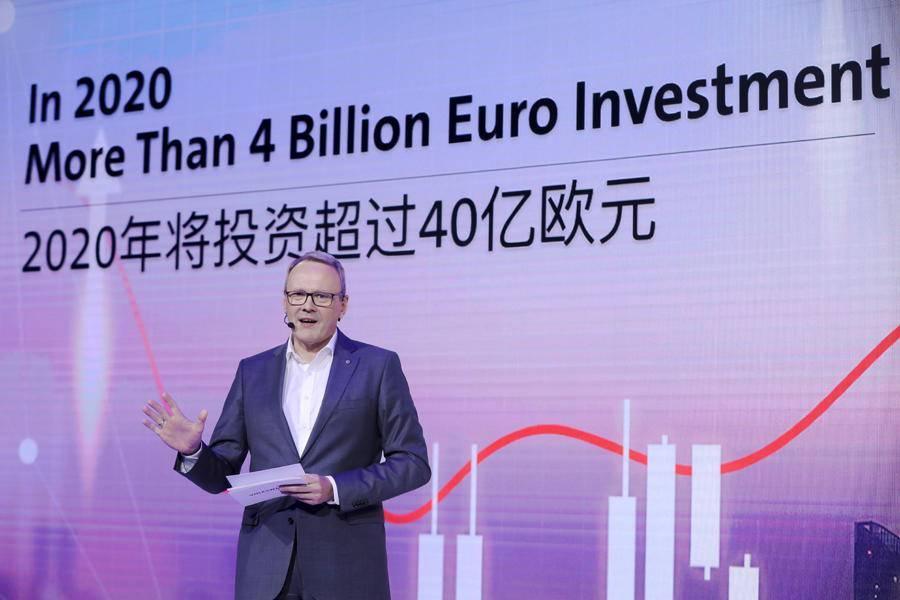 40%交给新能源,大众汽车2020年在华投资311.5亿元