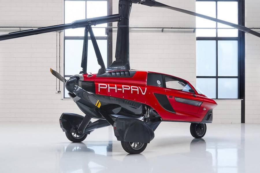 世界首辆飞行汽车亮相上热搜丨亿欧问答