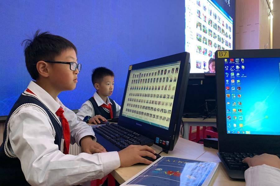 探校丨小学生的AI教育,让成年人都甘拜下风