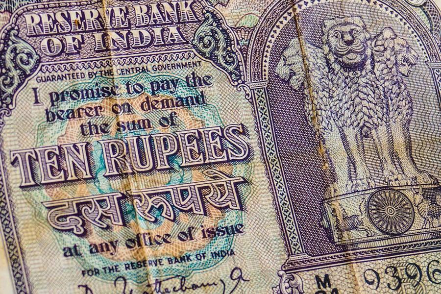 印度,卢比,货币