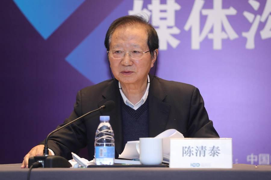 中国电动汽车百人会理事长陈清泰