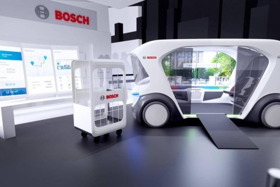 博世,博世,虚拟遮阳板,3D显示屏,车内监控系统,长距离激光雷达传感器,自动驾驶
