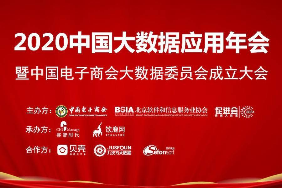 2020中国大数据应用年会在京成功召开