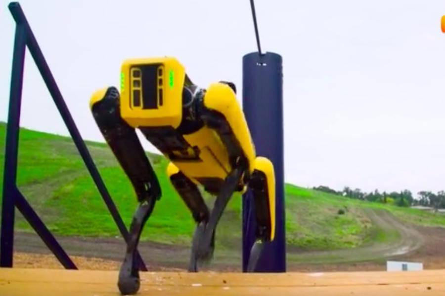 波士顿大黄狗,能否让柔性机器人发展向前迈一步?|亿欧全球视角