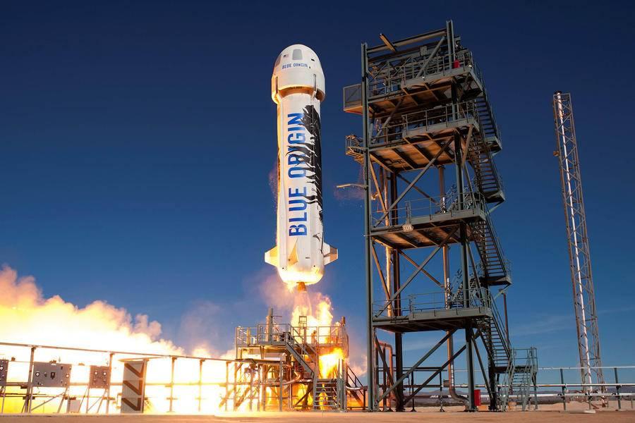 蓝色起源,NASA,蓝色起源
