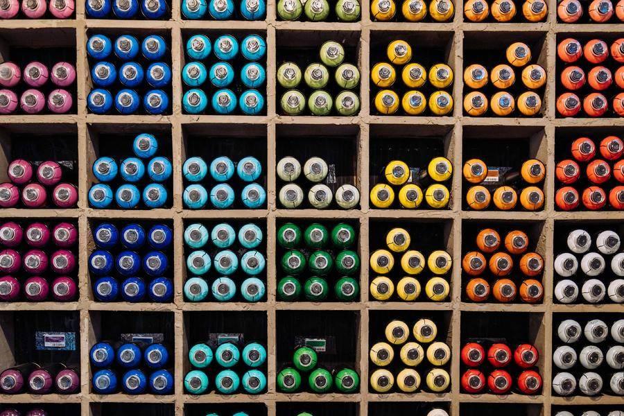 多元化 彩色 货架 货柜 制造 工业