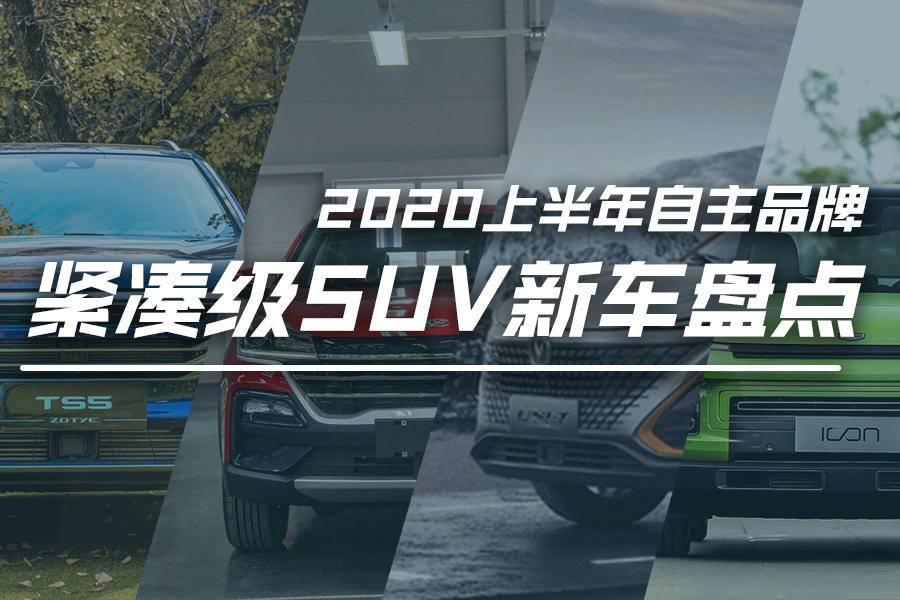 新车盘点丨2020年上半年上市的自主品牌紧凑级SUV