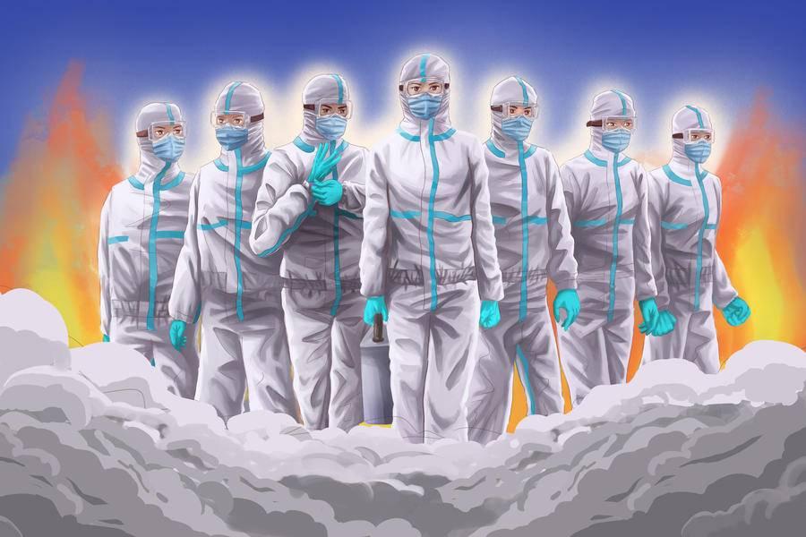 戰疫捷報丨全军医护人员保持零感染;全国累计治愈出院超4万人