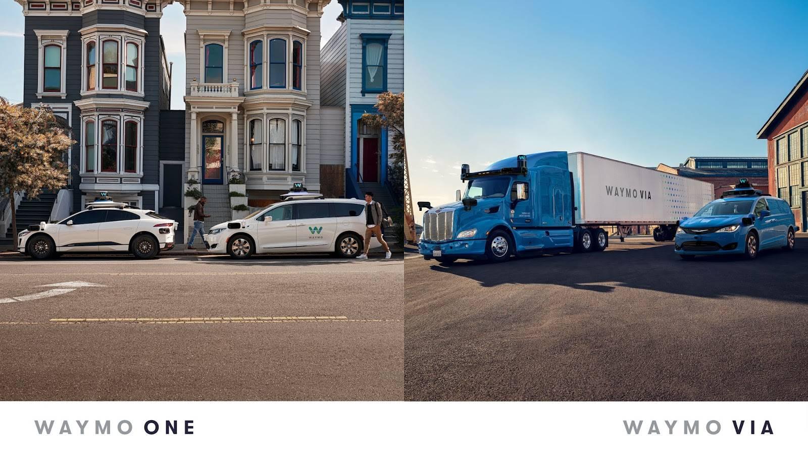 Waymo两大场景:自动驾驶 货运配送