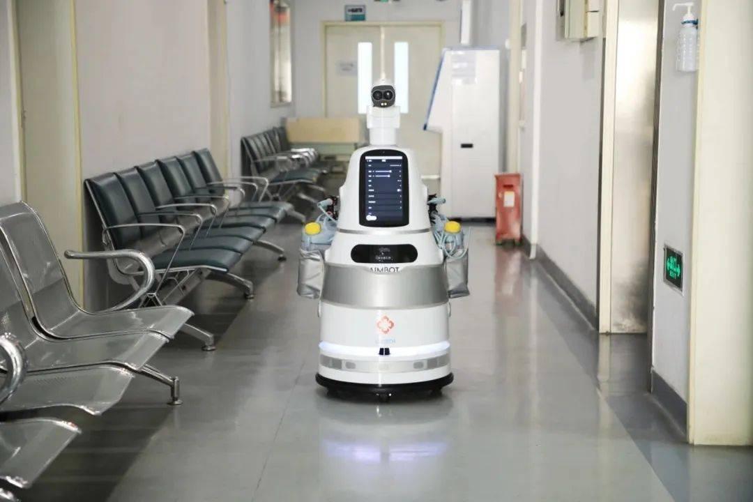 优必选室内测温巡检机器人AIMBOT