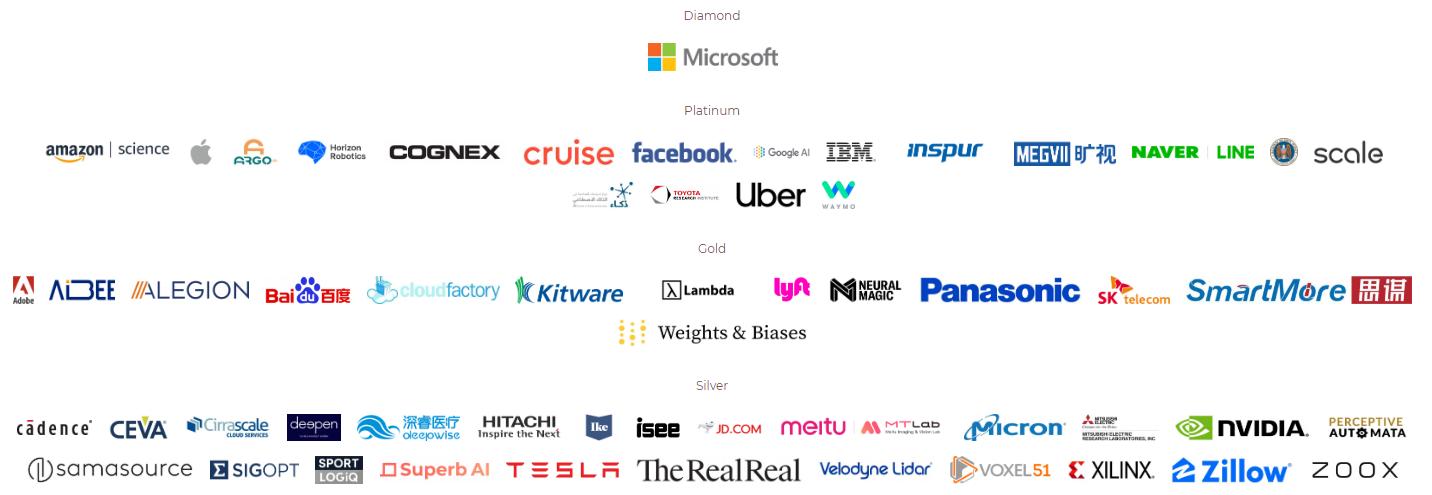 2020年CVPR赞助商