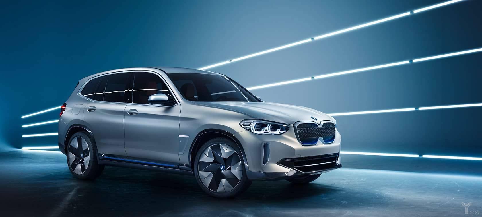即将在华晨宝马投产的BMW iX3/宝马集团官方