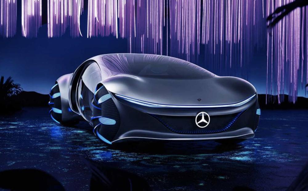 奔馳VISION AVTR概念車丨官方素材