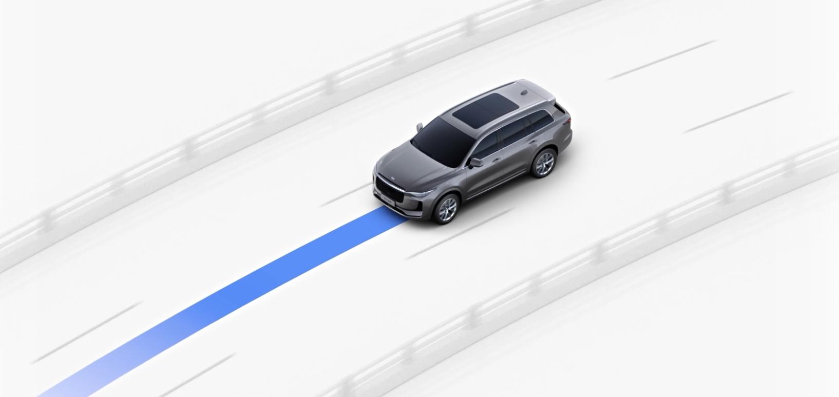 理想ONE车道保持功能示意图丨官方素材