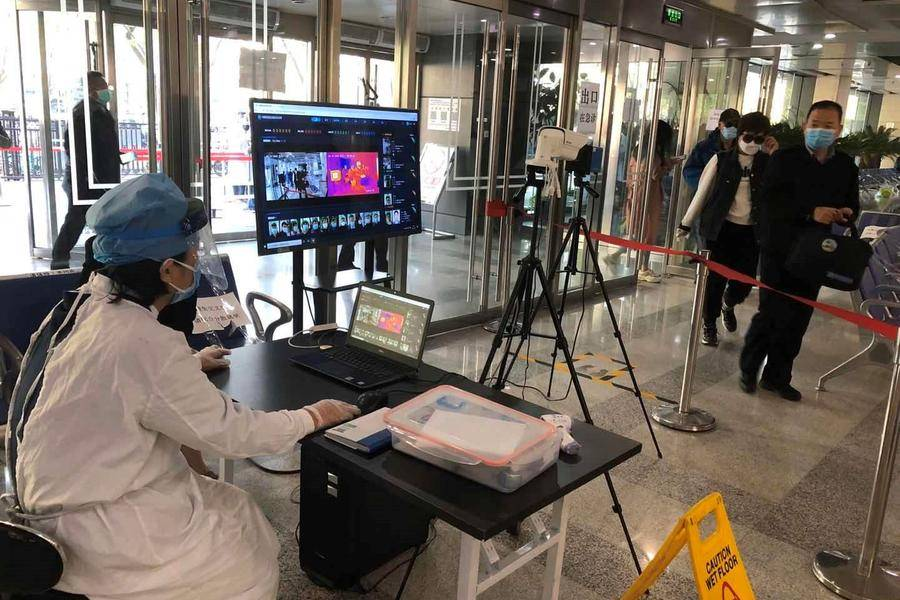 深醒科技助力安贞医院升级智能测温系统
