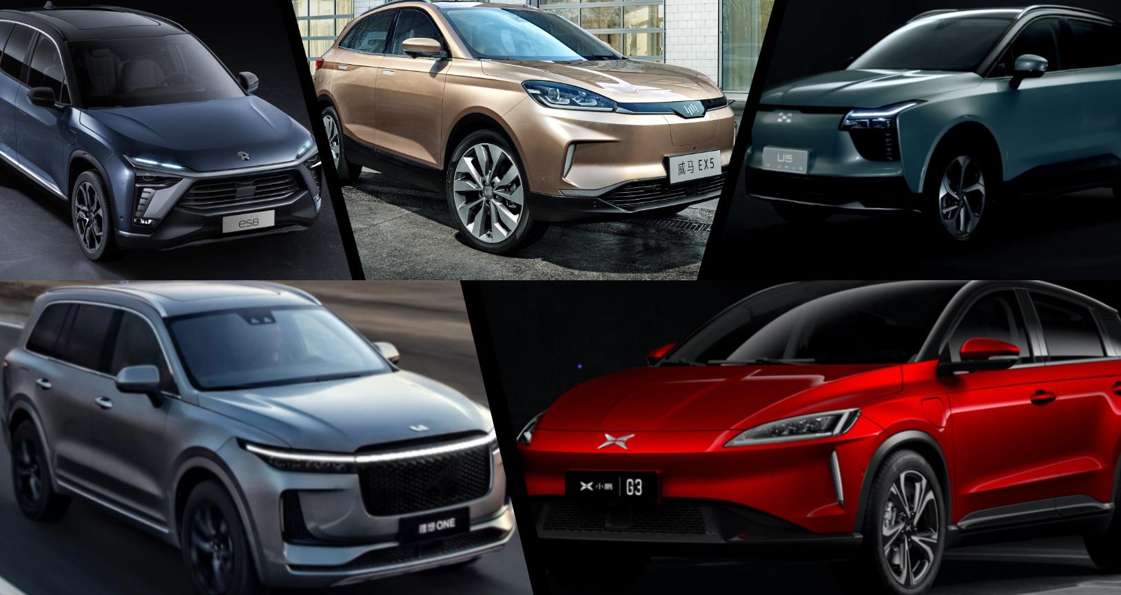 中国电动SUV主要车型
