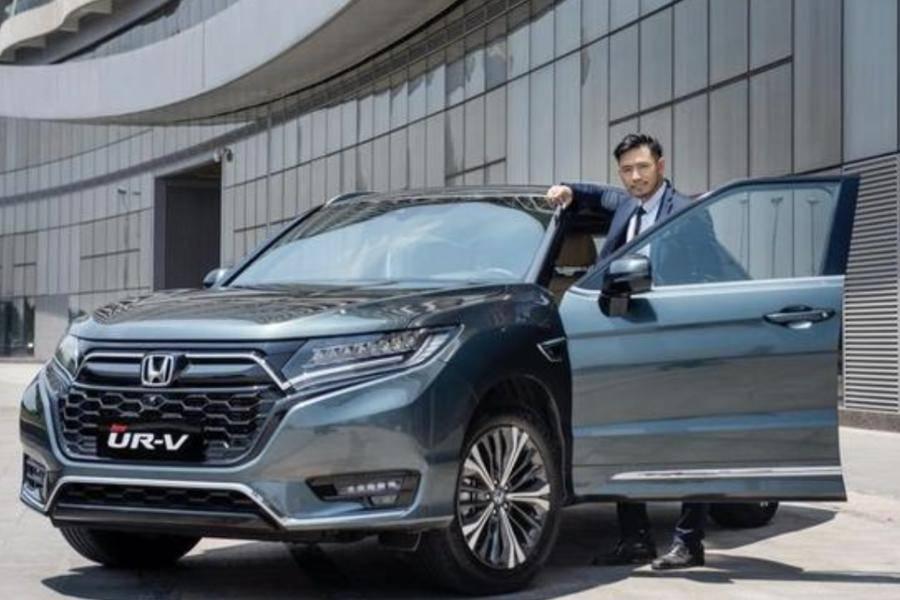 大五座东风本田UR-V上市,24.68万元起售
