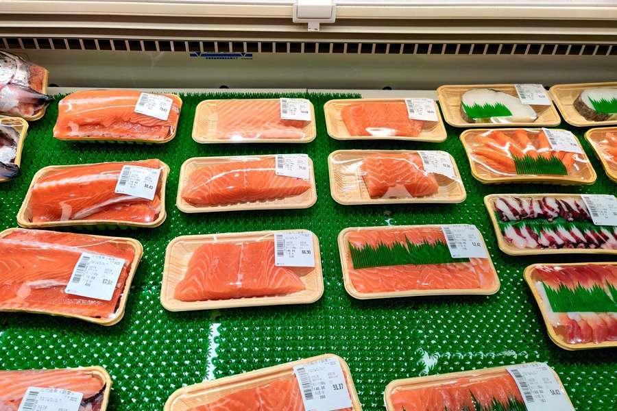 三文鱼,黑天鹅事件,三文鱼,人均消费低