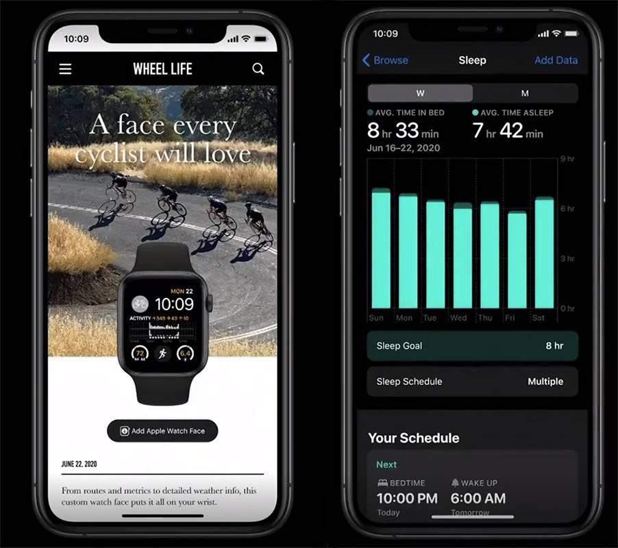 """亿欧:watchOS新功能""""表盘分享""""与""""睡眠监测""""/WWDC20"""