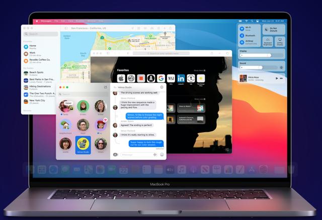 亿欧:macOS Big Sur全新界面/WWDC20