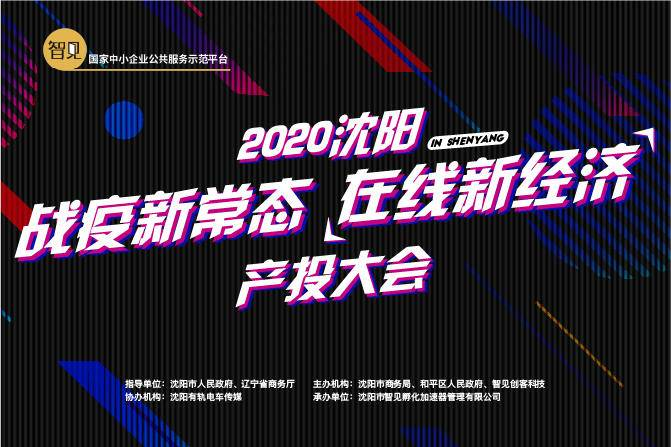 """2020沈阳""""战疫新常态 在线新经济""""产投大会"""