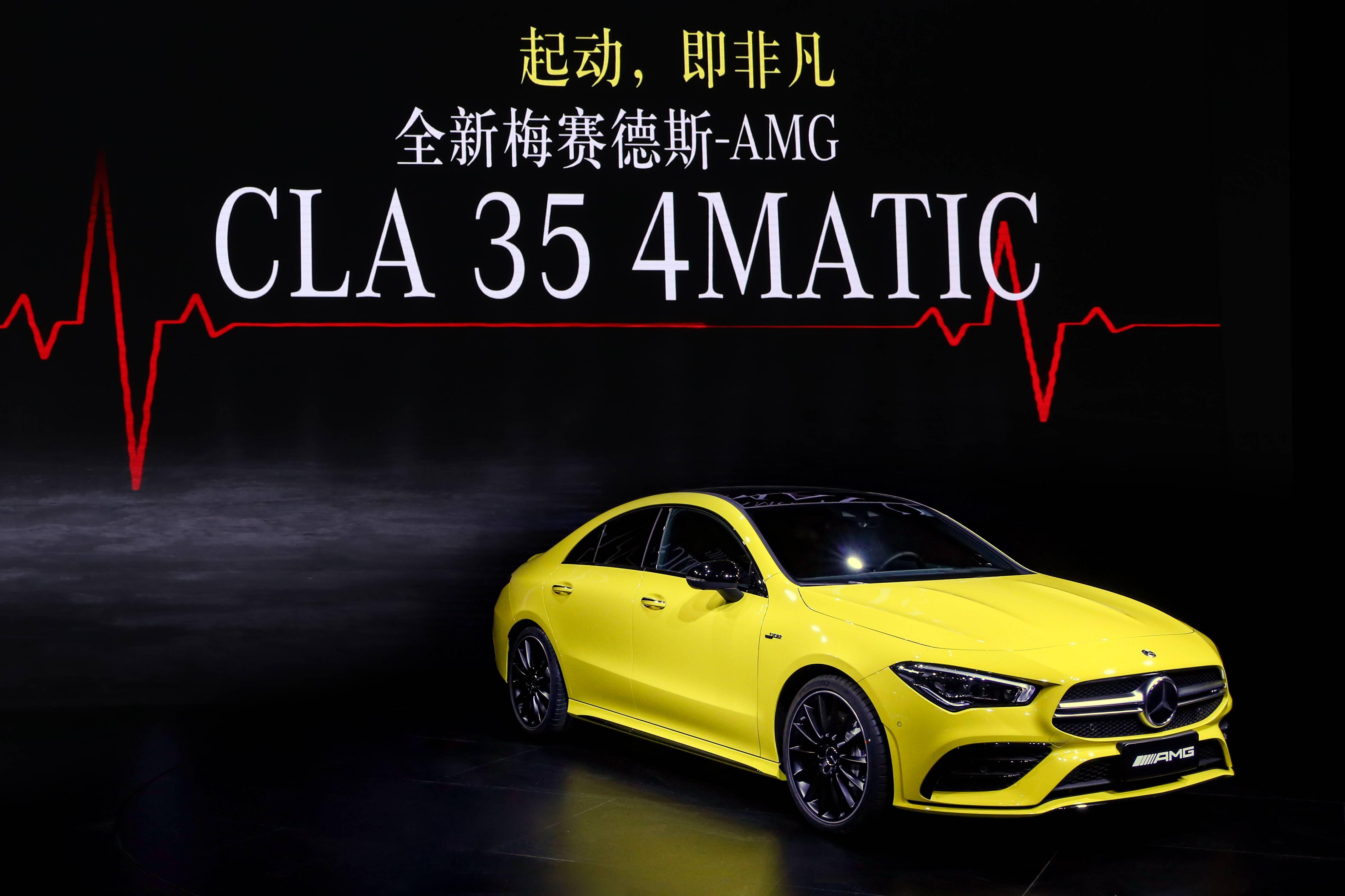崭新AMG CLA35