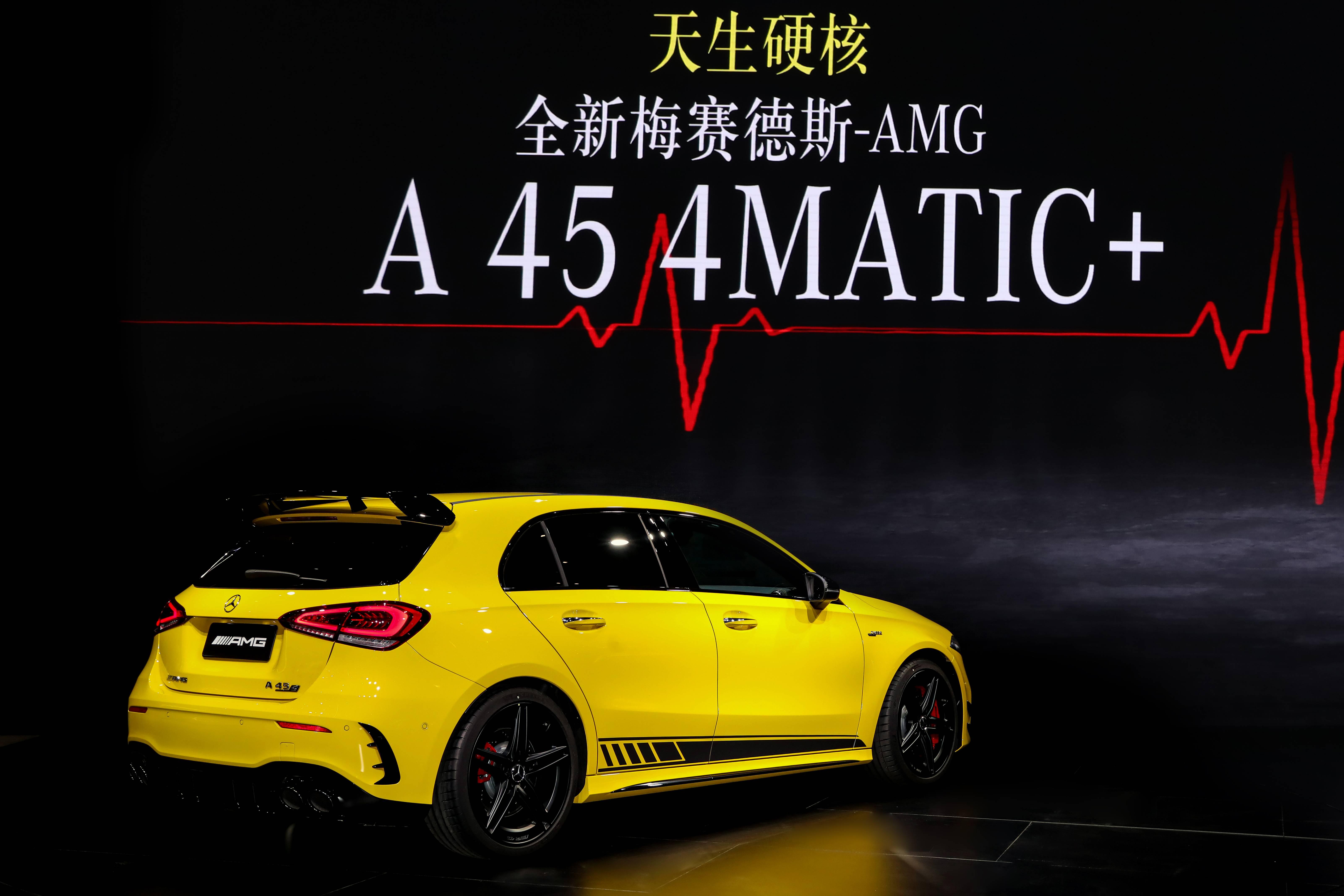 崭新AMG A45