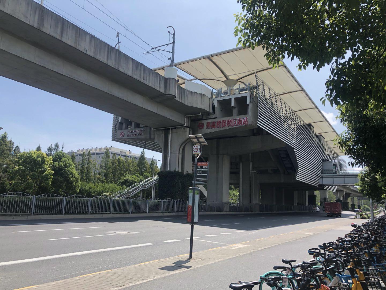 上海地铁6号线外高桥保税区南地铁站/图片来源 亿欧汽车