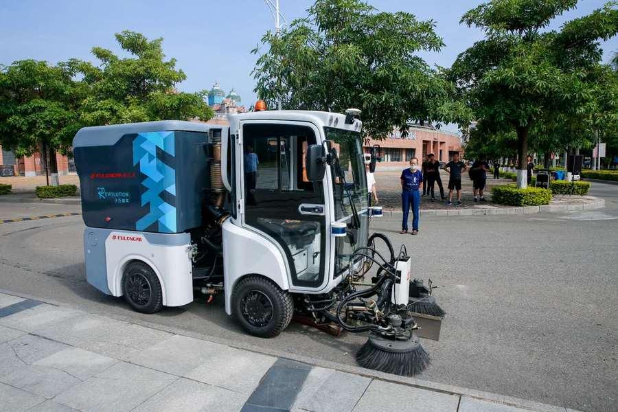 与龙马环卫合作,无人驾驶企业于万智驾进入环卫市场