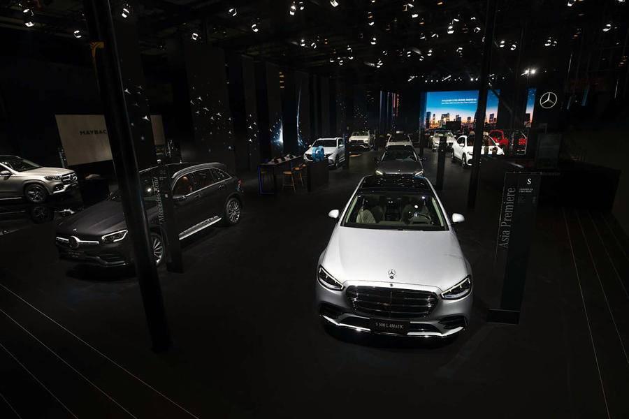 全新一代S级迎中国首发,奔驰6款新车走进北京车展