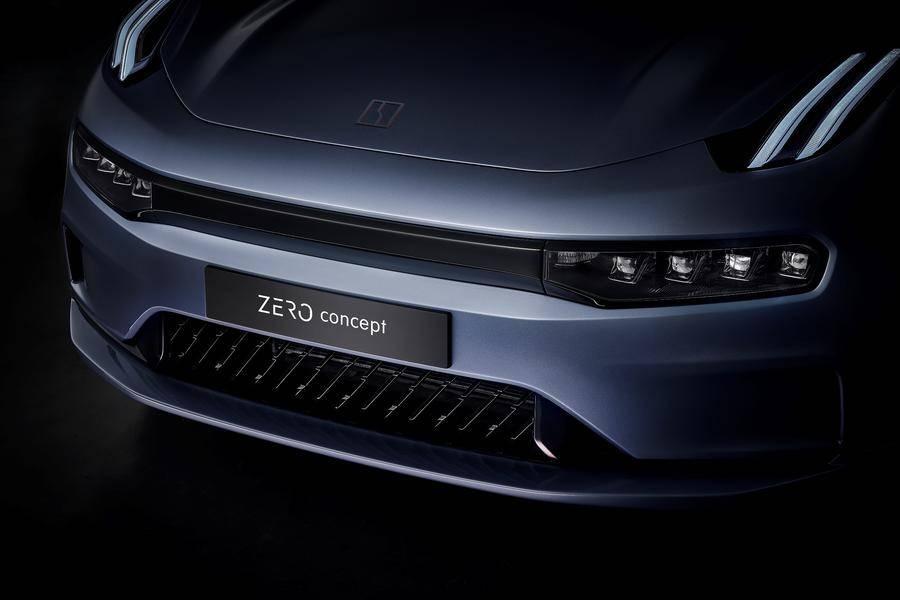 领克纯电车型ZERO concept首发亮相