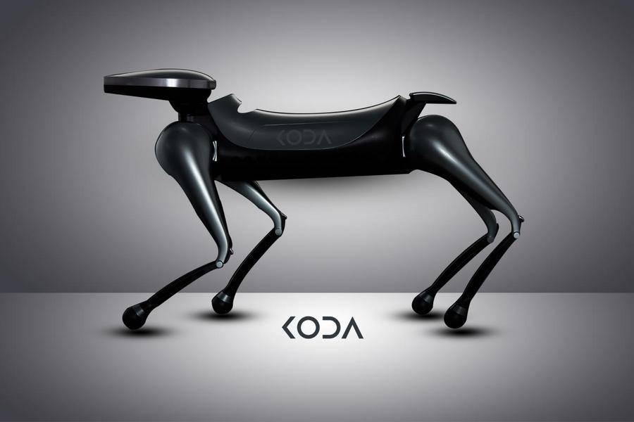 KODA——世界首款未来概念社交型机器狗问世
