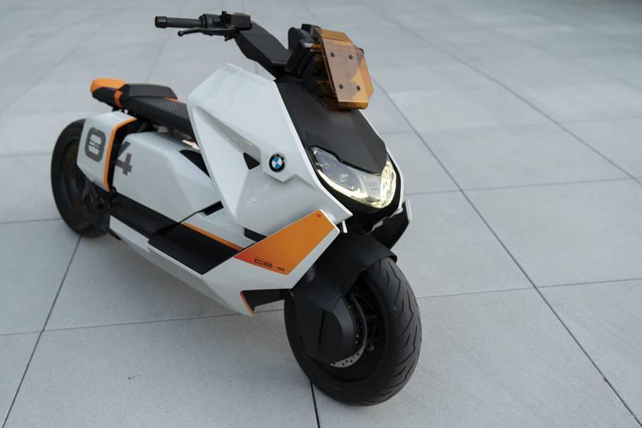 BMW Motorrad Definition CE 04概念车/宝马集团官方