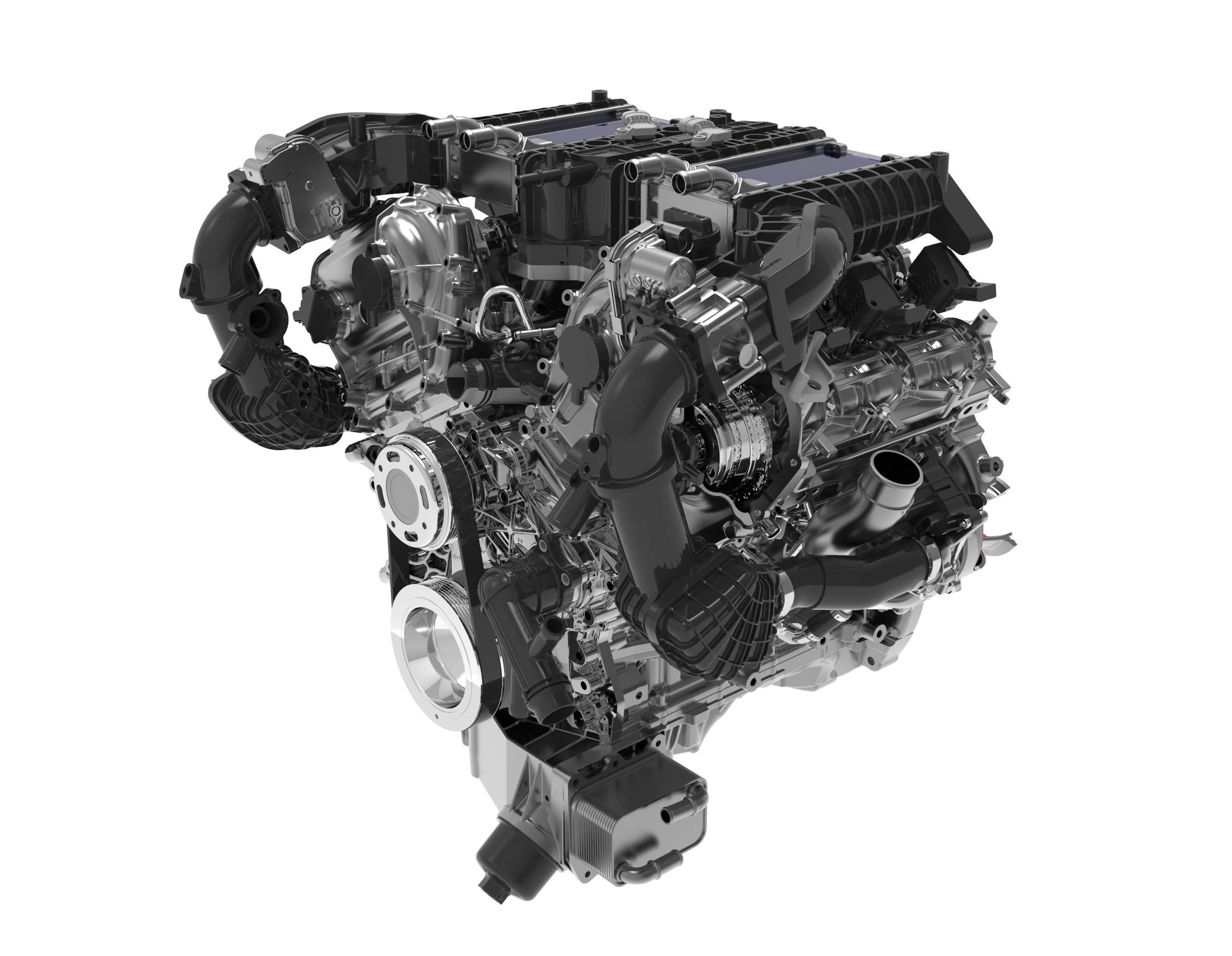 6Z30 3.0T双涡轮增压发动机