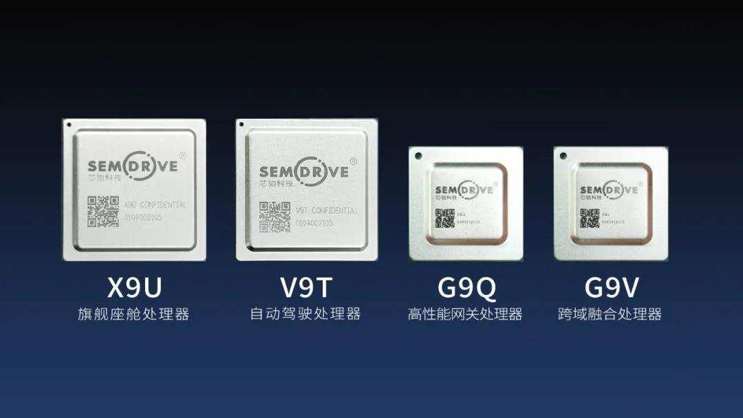 芯驰科技4款全新升级车规级处理器芯片