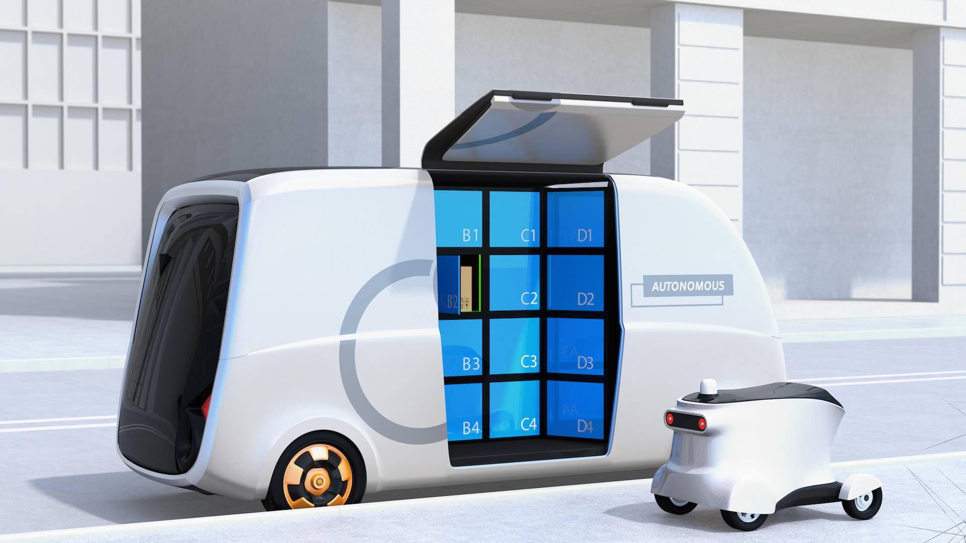 【億歐智庫】2021中國自動駕駛末端配送產業商業化應用研究