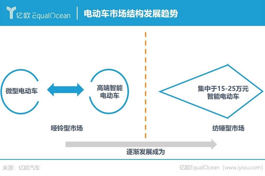 电动车市场结构预测