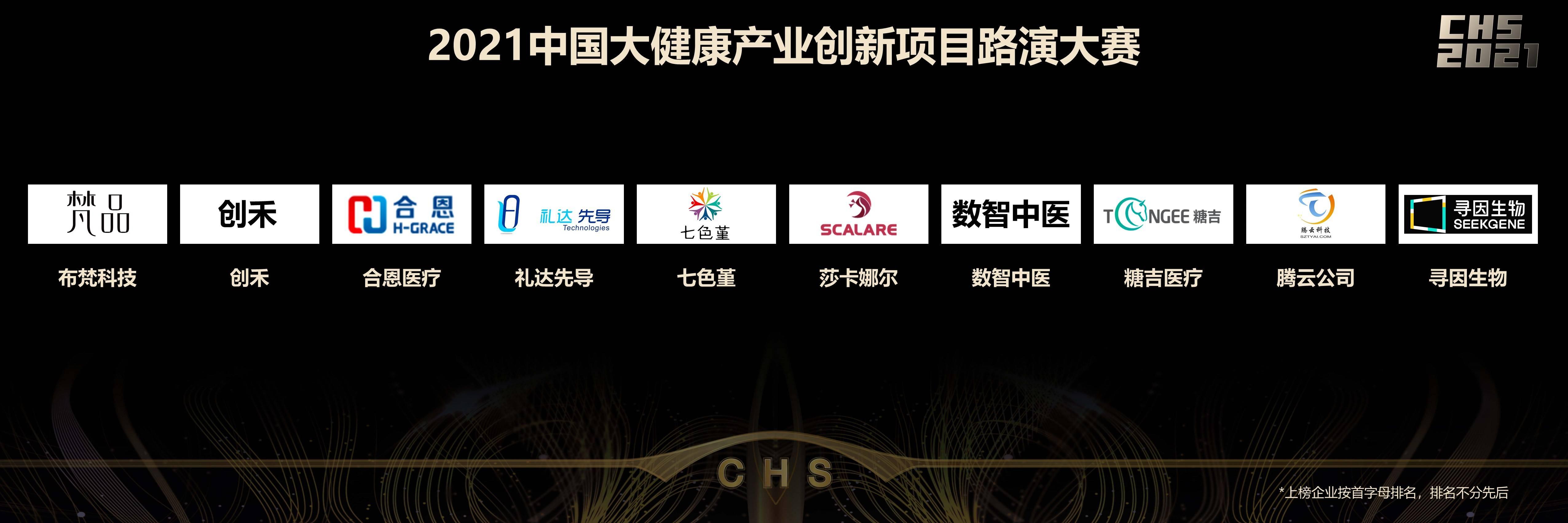 2021中国大健康产业创新项目路演大赛