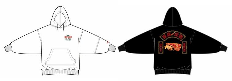 重庆啤酒×李宁卫衣