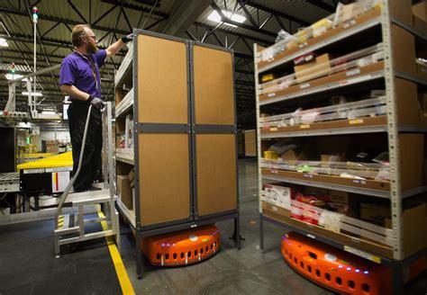 Kiva 移动货架